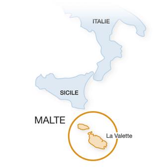 Malte : les régions