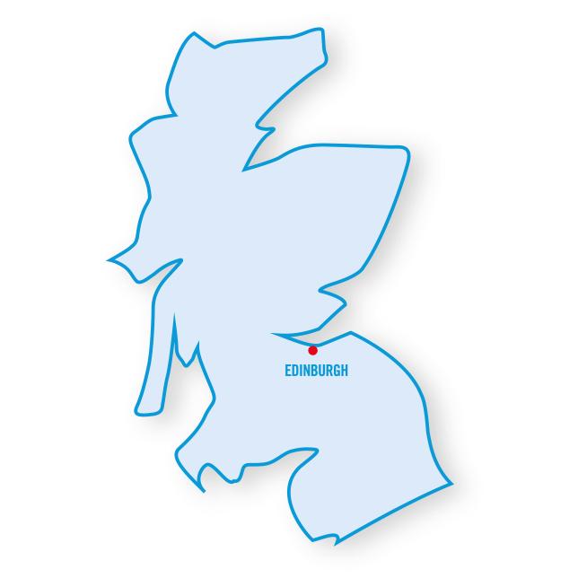 Écosse : les régions
