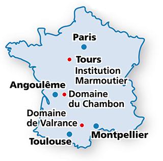 France : les régions