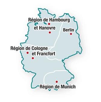 Allemagne : les régions