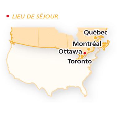 Canada : les régions