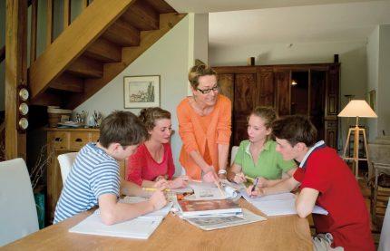 club 4 séjour linguistique famille cours