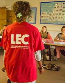 Cours de langues a l etranger LEC