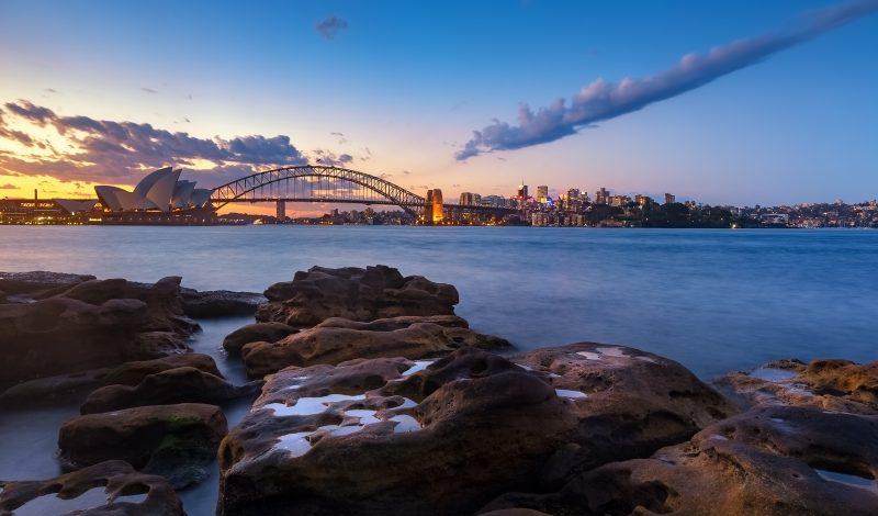 Sydney skyline australie