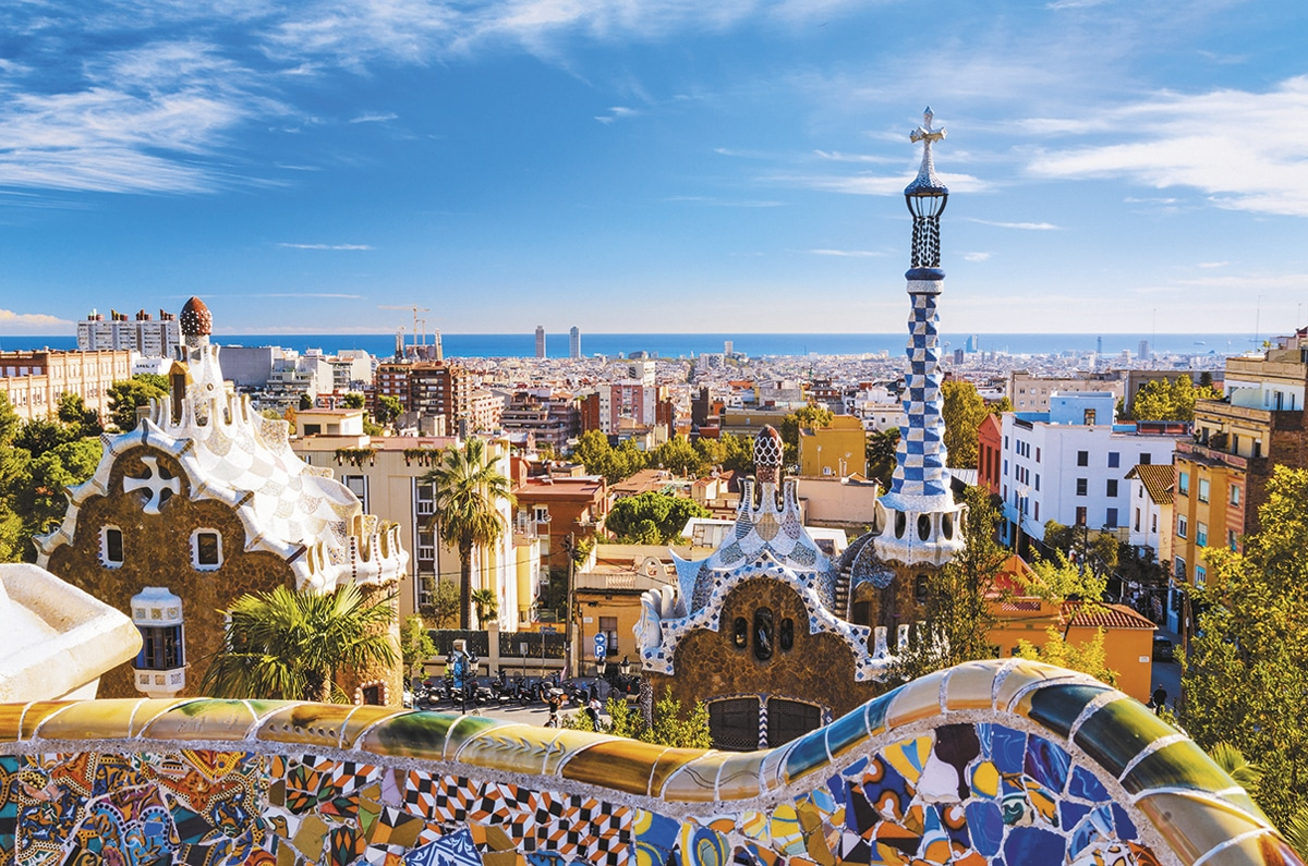 espagne guell barcelone