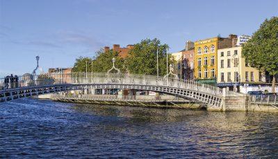 Ha'penny Bridge - Dublin irlande