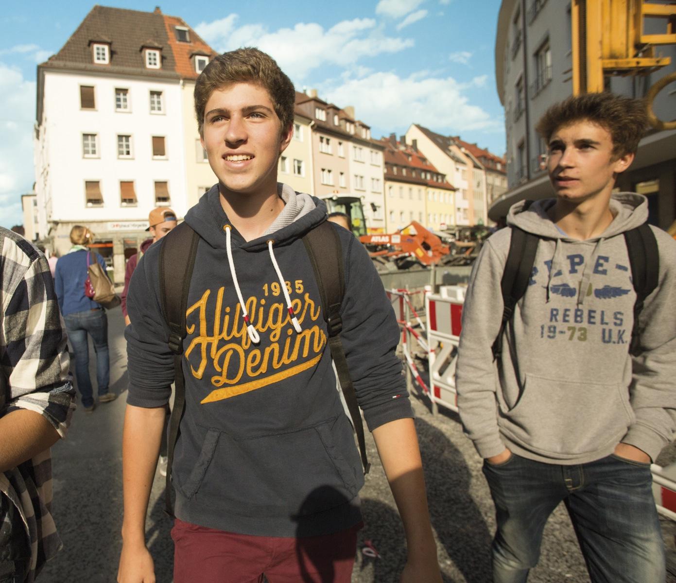 visite excursion ambiance jeunes