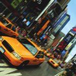 Les taxis jaunes de Times Square